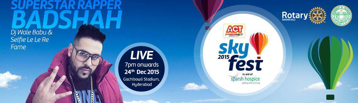 Act SKYFEST 2015 - Badshah Live Concert on Dec24th