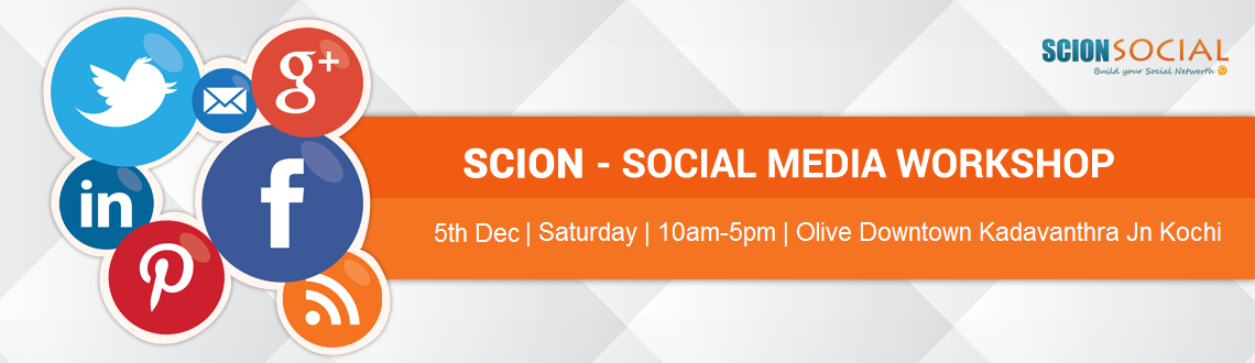 Book Online Tickets for Social Media Workshop COCHIN - 5th Decem, Cochin. Learn Proven Social Media Marketing Strategies That Will Transform Your Business Online.