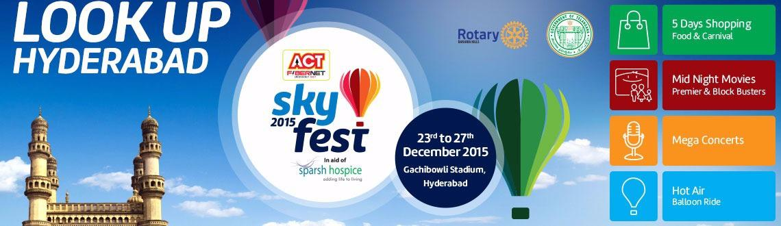 Act Fibernet SKYFEST 2015 - Combo Donor Passes for 27th Dec