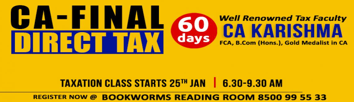 CA-Final Direct Tax Laws classes by CA Karishma