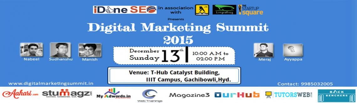 Book Online Tickets for Digital Marketing Summit - 2015, Hyderabad. Today the world has gone digital. Digital Marketing has impacted human lives so much so that it has integrated itself into their lives. Every aspect of human life is digital today. Let us examine how this digital marketing has gone places in this Dig