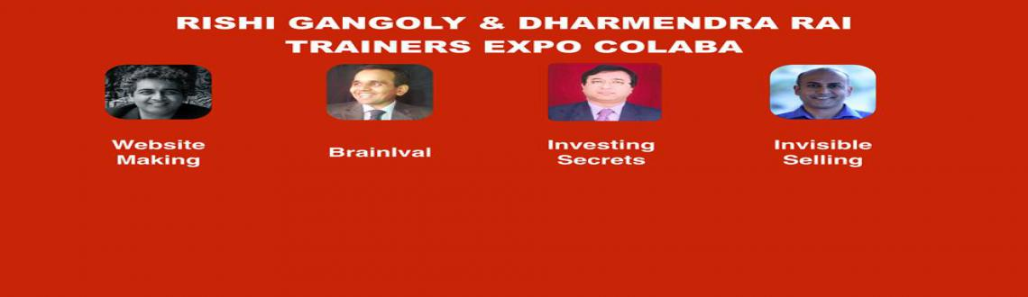 Book Online Tickets for RISHI GANGOLY  DHARMENDRA RAI TRAINERS E, Mumbai. RISHI GANGOLY & DHARMENDRA RAI Trainers Expo SOUTH MUMBAI
