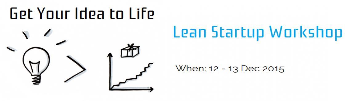 Lean Startup Workshop - 2015