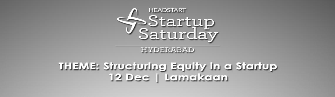 Startup Saturday Hyderabad - December Edition