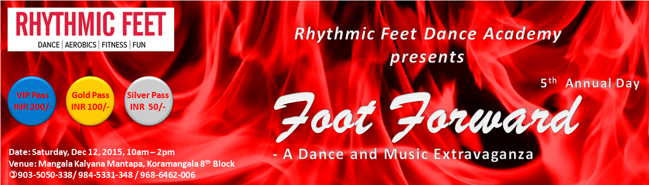 Foot Forward - Dance and Music Extravaganza