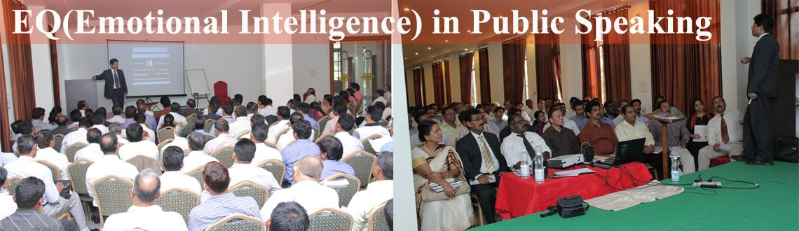 Meetup event: EQ (Emotional Intelligence) in Public Speaking