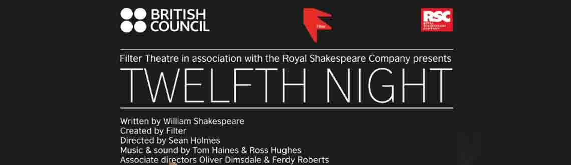Twelfth Night by Filter Theatre in Hyderabad on 11th December 2015