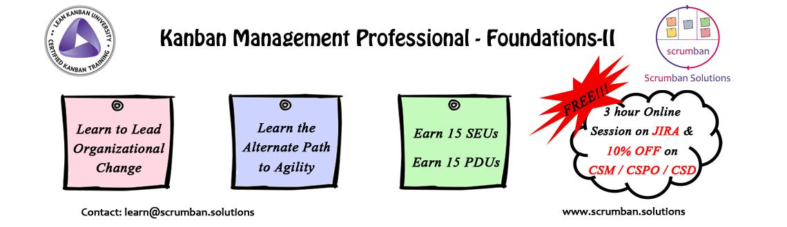 LKU Certified Kanban Management Professional : KMP-II | Delhi | 21-22 March 2016