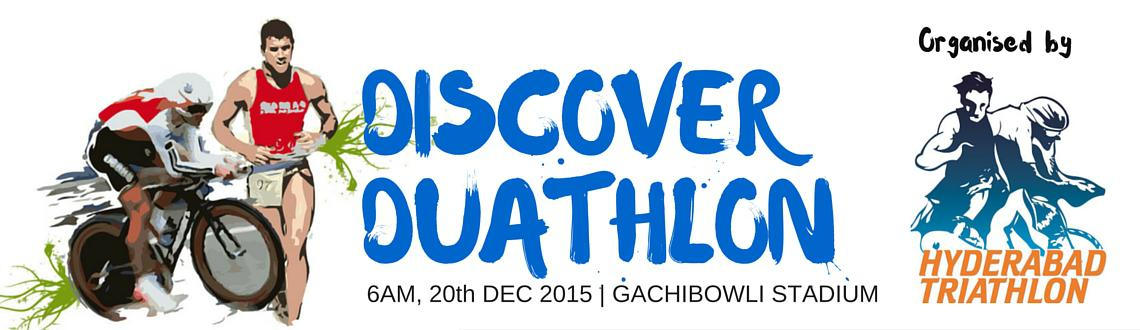 Book Online Tickets for Discover Duathlon, Hyderabad. Discover Duathlon 2015 