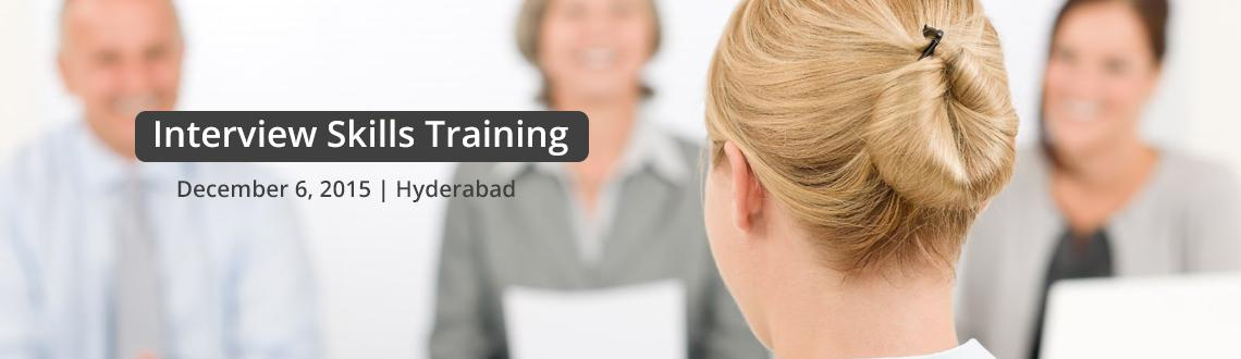Book Online Tickets for Interview Skills Training, Hyderabad. Learn Interview Skills from leading expert trainer-Avinash Reddy Interview Skills Contents Before the Interview - Know Yourself - Wh