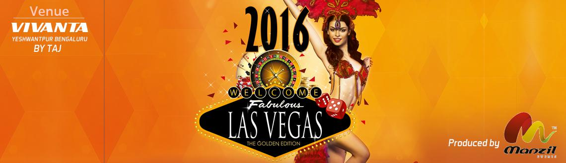 Las Vegas 2016 The Golden Edition - New Year Party