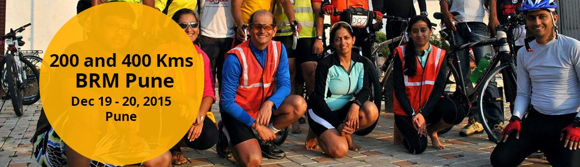Book Online Tickets for 19th Dec 2015 Pune BRM- 200 and 400 Kms, Pune. Start Time: 06:00 am