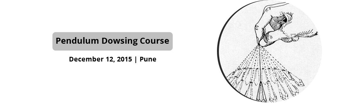 Book Online Tickets for Pendulum Dowsing Course, Pune. Arihant Healing Center is glad to announce course in pendulum dowsing on 12th Dec 2015, Saturday.What is covered?         Basics of pendulum dowsing         How to cleans