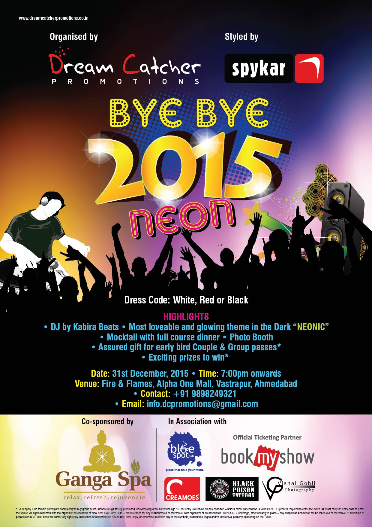 Book Online Tickets for bye bye 2015, Ahmedabad. Who's invited?: All