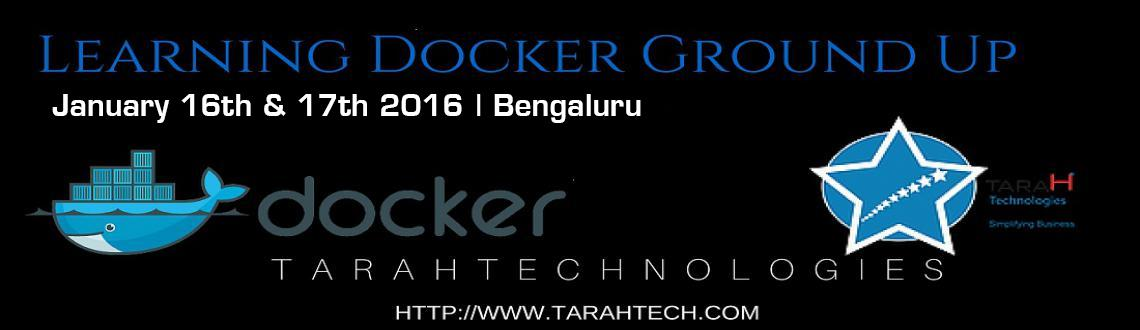 Book Online Tickets for Learning Docker Ground Up , Bengaluru.  Workshop on Docker and Containers on Jan16th and 17th - You can either choose one day or two days   Docker is an platform open for developers and sysadmins to build, ship, and run distributed applications. Docker has a Docker E