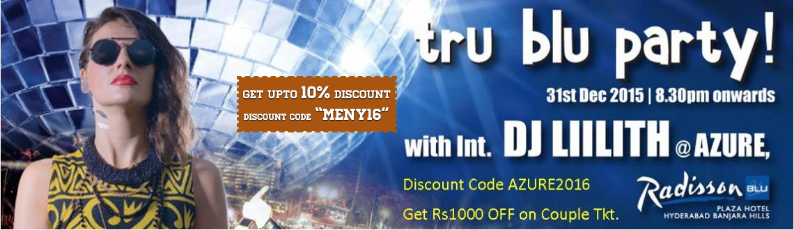 Book online tickets for Tru Blu Chill Party Tickets and get the access for unrestricted event access to all 3 DJ Parties. Visit MeraEvents Now.
