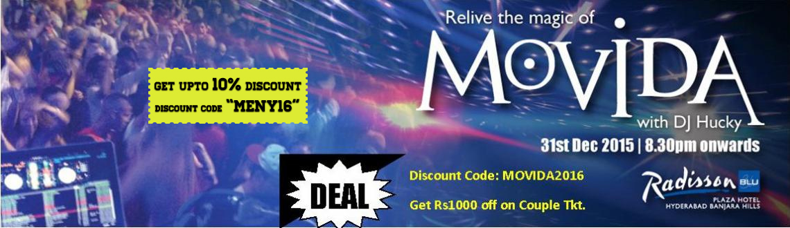 Book online tickets for Movida Party with DJ Hucky and get the access for unlimited alcohol, food, and fun. Visit MeraEvents Now.
