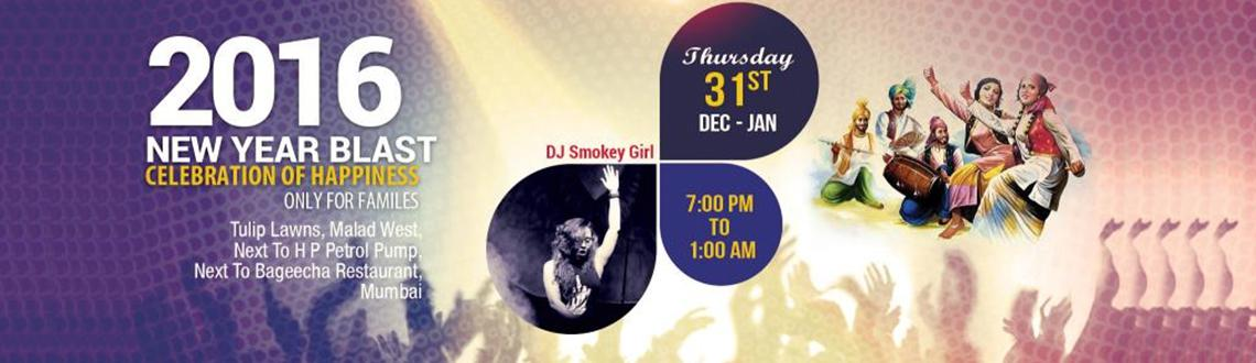 Book Online Tickets for 2016 NEW YEAR BLAST : Celebration of Hap, Mumbai. Who's invited? Family and kids