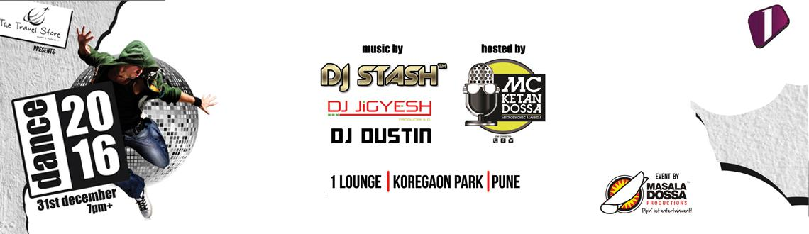 Book your tickets for Dance 2016 let's experience the endless entertainment by DJ Stash and MC Ketan Dossa. Visit MeraEvents Now.