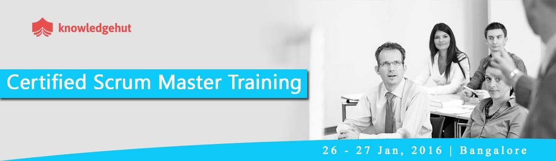 Book Online Tickets for Certified Scrum Master Training (CSM) in, Bengaluru. Certified Scrum Master Training (CSM®) in Bangalore http://www.knowledgehut.com/agile-management/csm-certification-training-bangalore  Course Overview: A Certified ScrumMaster® is well equipped to use Scrum, an agile methodology to