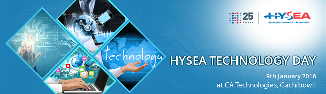 Book Online Tickets for HYSEA TECHNOLOGY DAY, Hyderabad. 