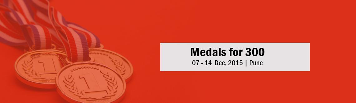 Medals for 300 - 05 Dec 2015