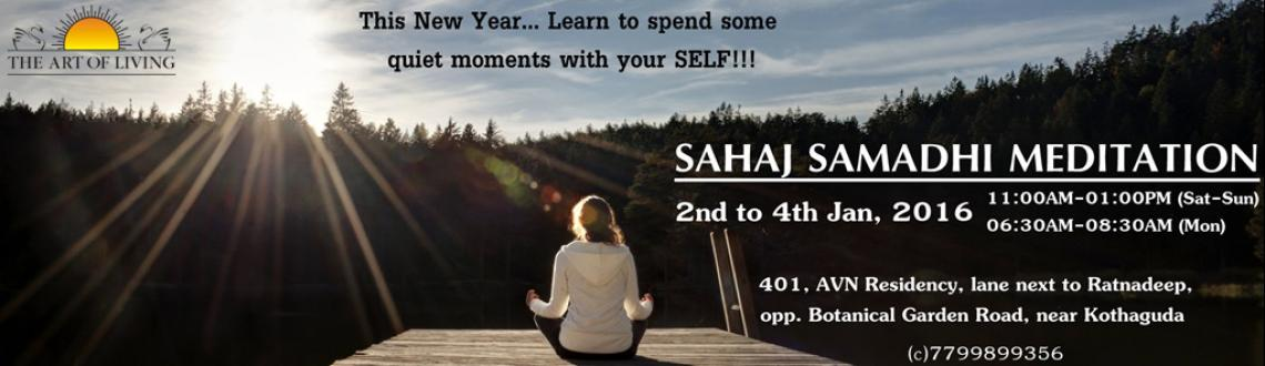 Book Online Tickets for Sahaj Samadhi Meditation with Swami Vish, Hyderabad. The Art of Living brings to you an opportunity to....Learn the effortless path towards true relaxation through: