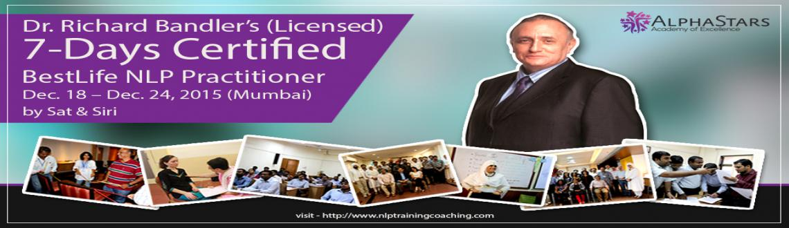 7 Days BestLife NLP Practitioner Certification Training In Mumbai
