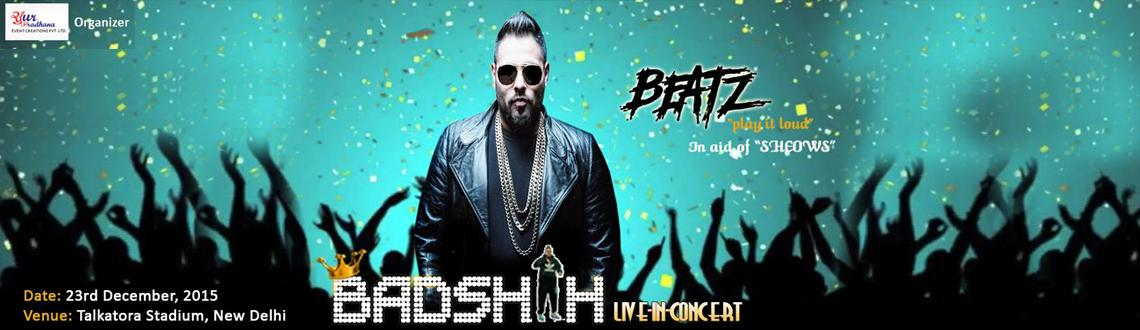 Book Online Tickets for Badshah live in concert Delhi, NewDelhi. Badshah is a Punjabi singer, wrapper, music producer and lyricist. His most popular songs include \\\
