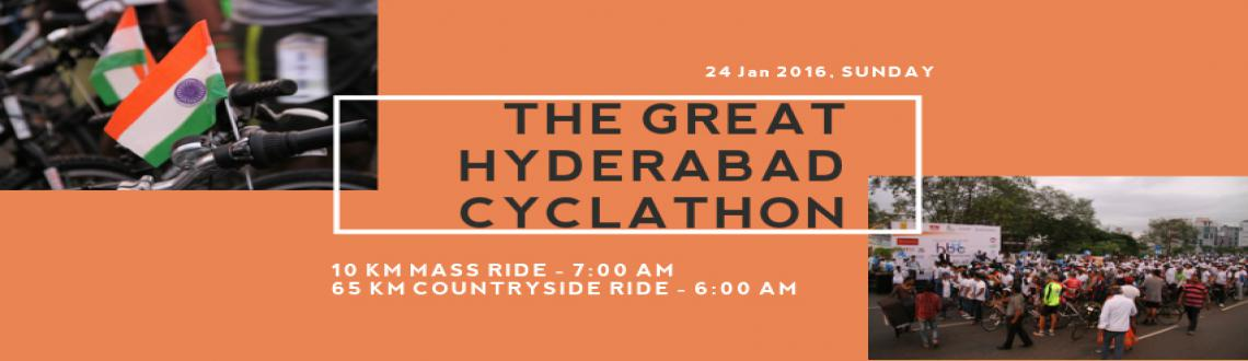 Book Online Tickets for The Great Hyderabad Cyclathon, Hyderabad. 