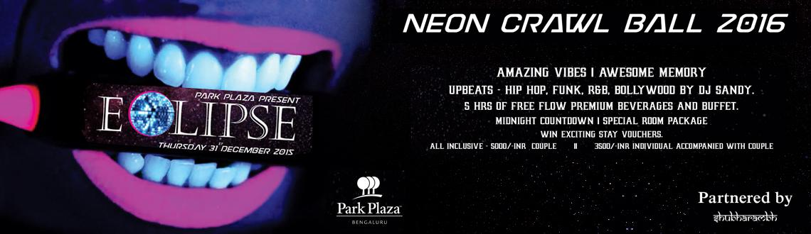 NEON CRAWL BALL 2016 New Year Event
