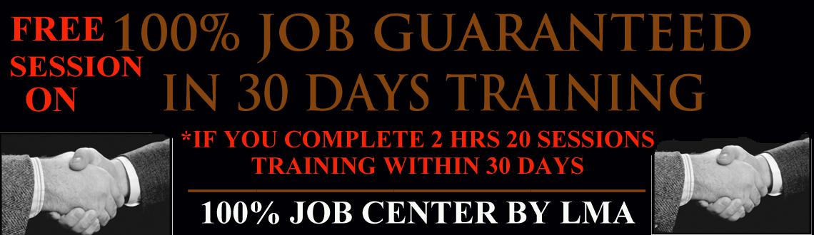 Free Session on Job in 30days Training