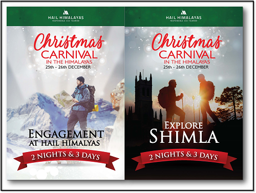 Book Online Tickets for Celebrate Magical Christmas in the Lap o, Shimla. 