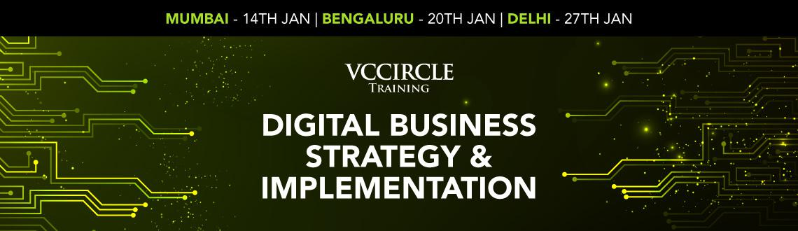 Book Online Tickets for Digital Strategy  Implementation, NewDelhi. Digital innovations such as big data and analytics, cloud and mobile solutions, social media and the internet of things are changing the dynamics of competition across industries. Business leaders know they must transform their organizations in respo