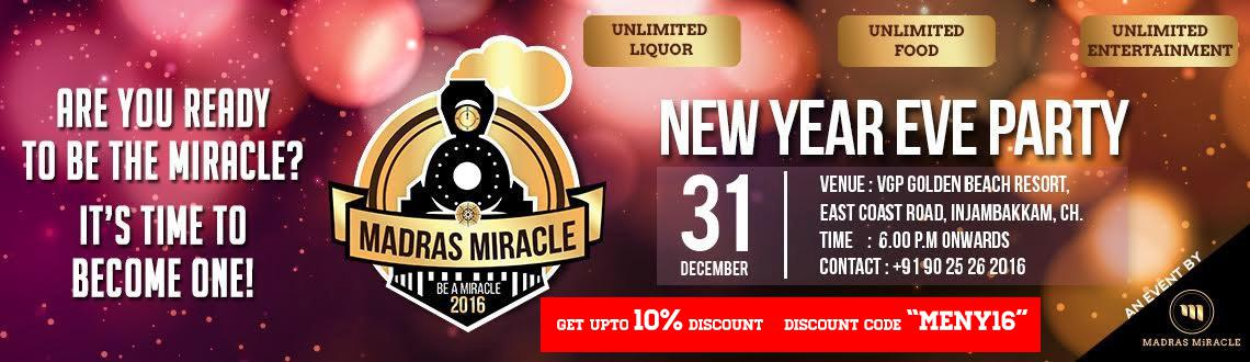Madras Miracle 2016 - Be a Miracle