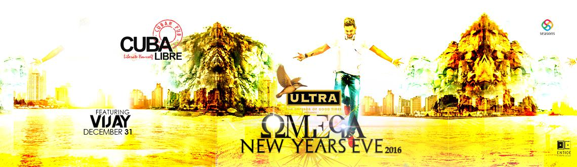 Book Online Tickets for OMEGA NEW YEAR 2016 CUBA LIBRE PUNE , Pune. Its Time to wave off a Goodbye to this year and wishing for a yet better year , CUBA LIBRE Presents to you -OMEGA- NEW YEAR EVE 2016 with massive decor and thrilling ambiance in addition to the luring unlimited bar . On the floor we have DJ VIJAY who