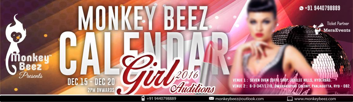 Monkey Beez Calendar Girls 2016 Audtions