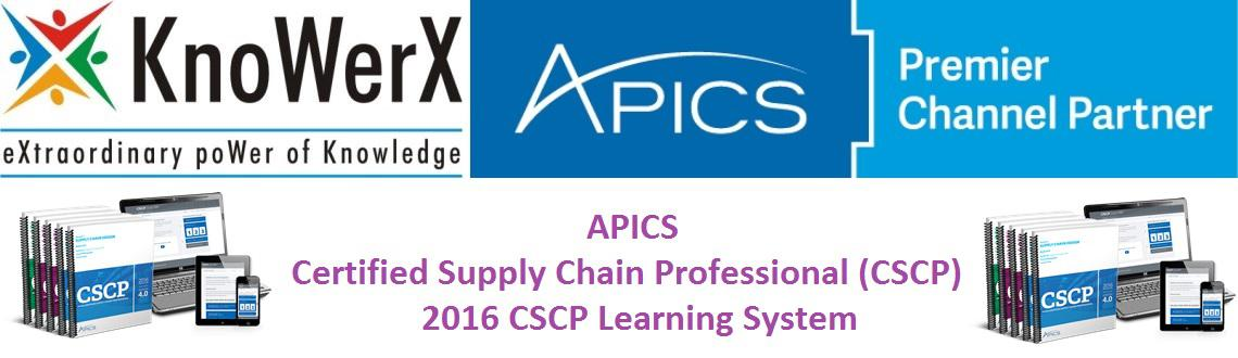 APICS 2016 CSCP Learning System