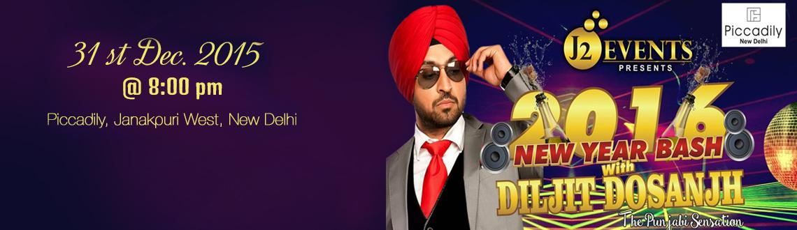 Book Online Tickets for New Years Bash with Diljit Dosanjh, NewDelhi. Who's invited? Couples, stags, kids