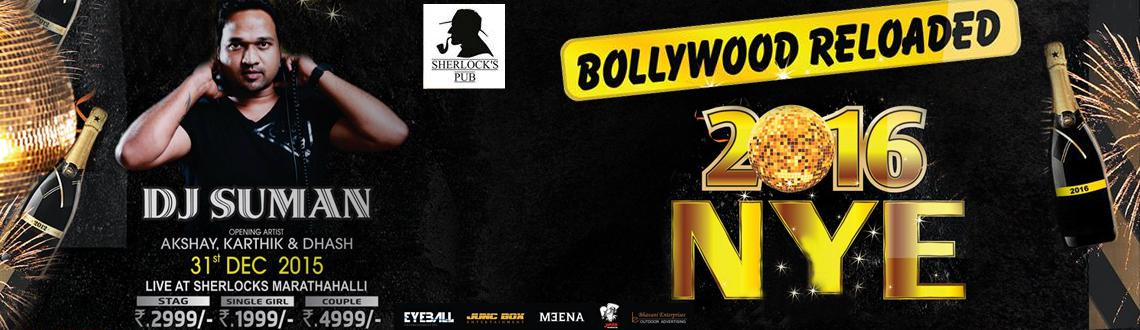 Bollywood Reloaded 2016 New Year Event