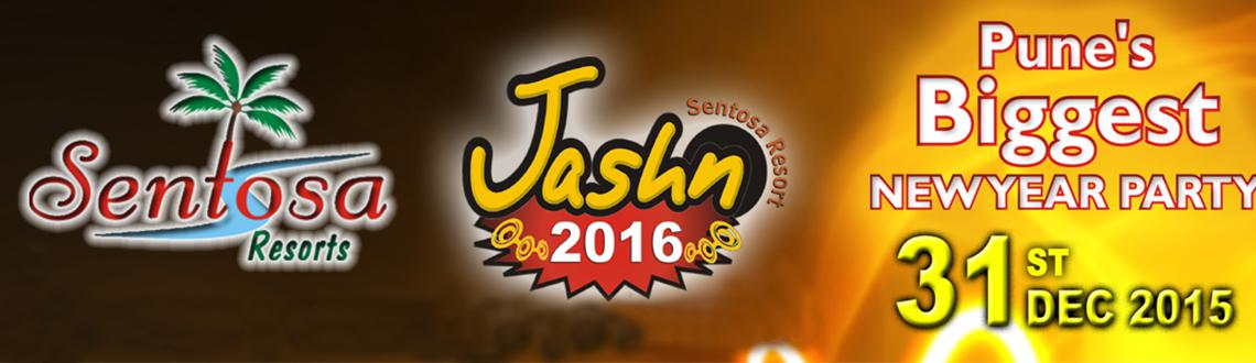 Book online tickets for Jashn 2016. Let's experience the Pune's New year Party at Sentosa Resorts & Water Park. Visit MeraEvents Now.