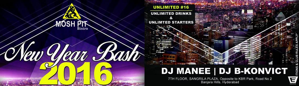 Unlimited NYE 16 at MoshPit