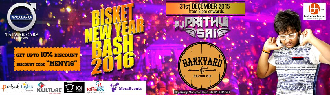 Bisket New Year Bash 2016