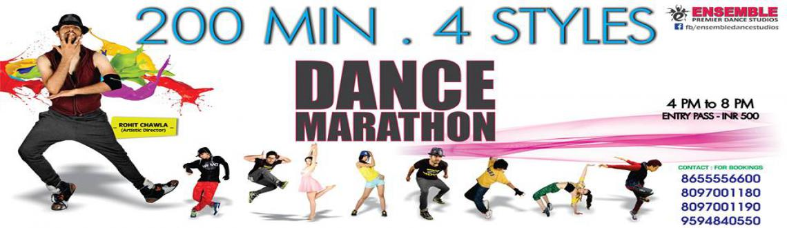 DANCE MARATHON - Learn 4 Styles in 200 Minutes.- ENSEMBLE DANCE STUDIOS - Mumbai