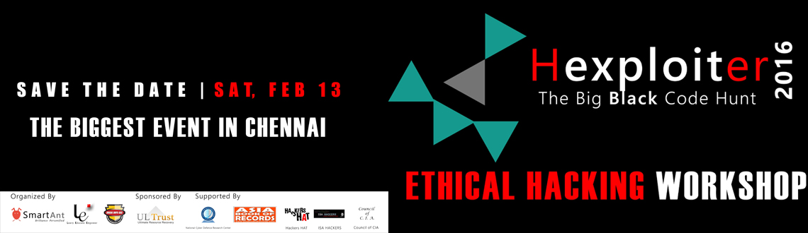 HEXPLOITER 2016 - Ethical Hacking Workshop