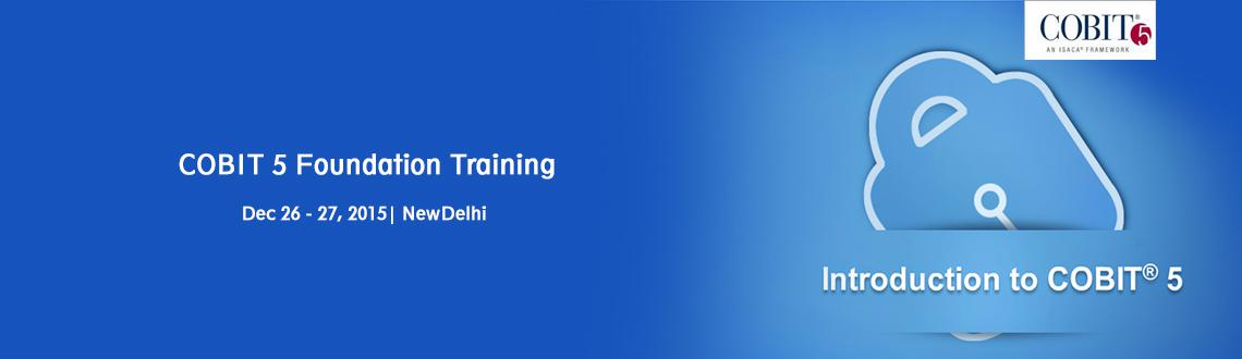 Book Online Tickets for COBIT 5 Foundation Course in Delhi, NewDelhi. USE Coupon code IIPE30cobit5 to get 30% discount =================