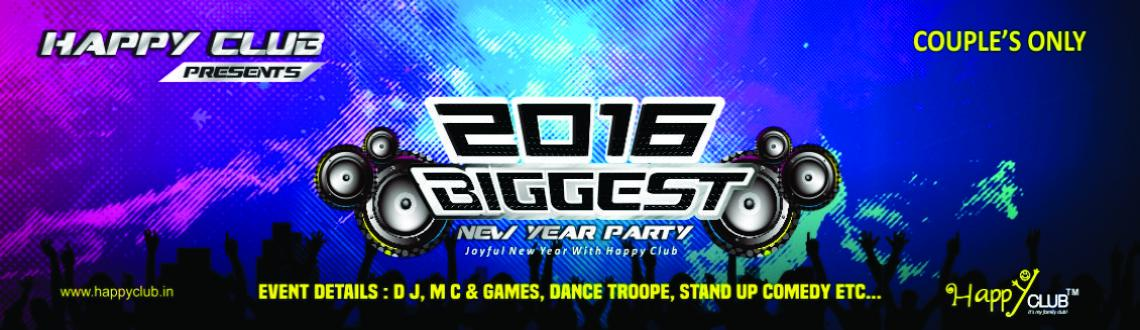 Happy Club 2016 Biggest New Year Party