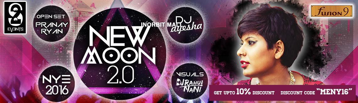 Book online tickets for NEW MOON 2.O. Let's experience the Top notch sound, live visuals, and unlimited alcohol beverages.Visit MeraEvents Now.