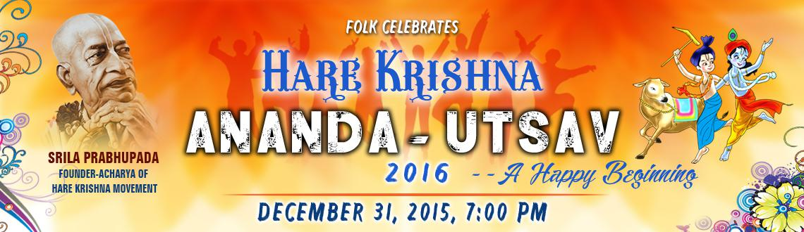 Book Online Tickets for Hare Krishna Ananda Utsav, Hyderabad. 