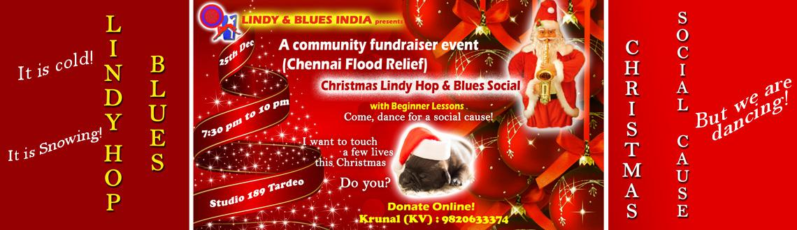 Christmas Lindy  Blues Social - Dance for social cause (Chennai flood relief)